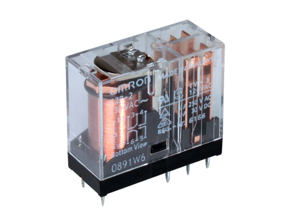 Omron G2R-2 12AC - General Purpose Relay 12 VAC DPDT 2 CO 5 A
