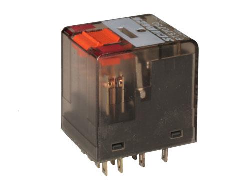 Schrack PT570524 (PT570R24) - Relé Media Potencia 4PDT 24 Vca - TE 8-1419111-7