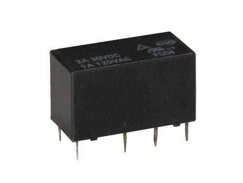 Hongfa JRC-27F/006-S - Miniature Relay 6 Vdc DPDT 2 CO 1 A