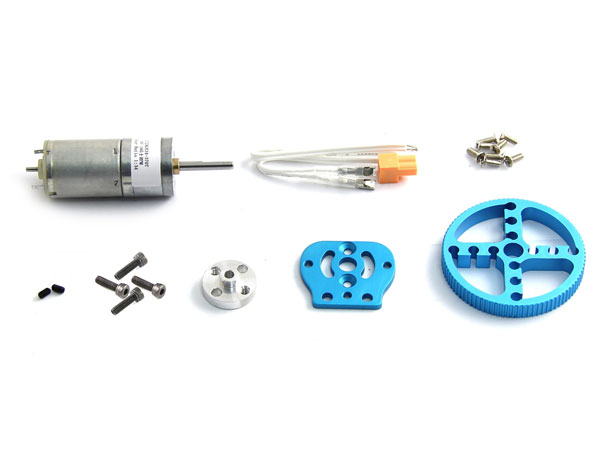 Makeblock - 25 mm DC Motor Pack - Blue - 95010