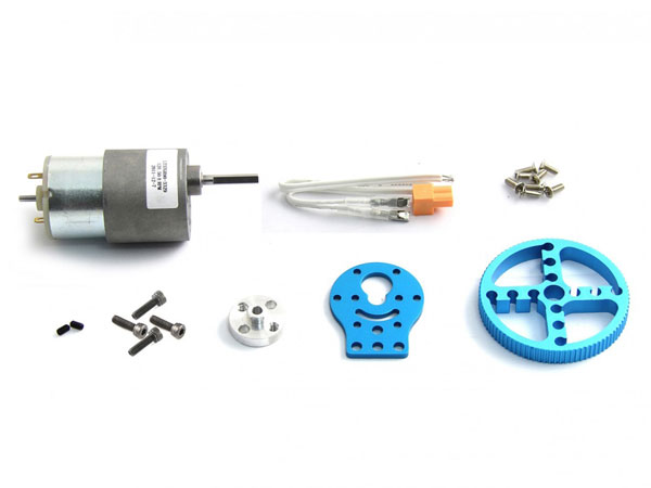 Makeblock - Pack Movimiento Motor DC 37 mm - Azul - 95012
