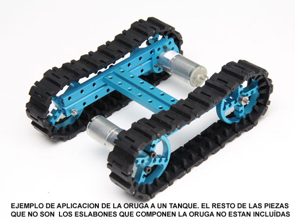Makeblock - Links lagarta - 40 Unidades - 87050