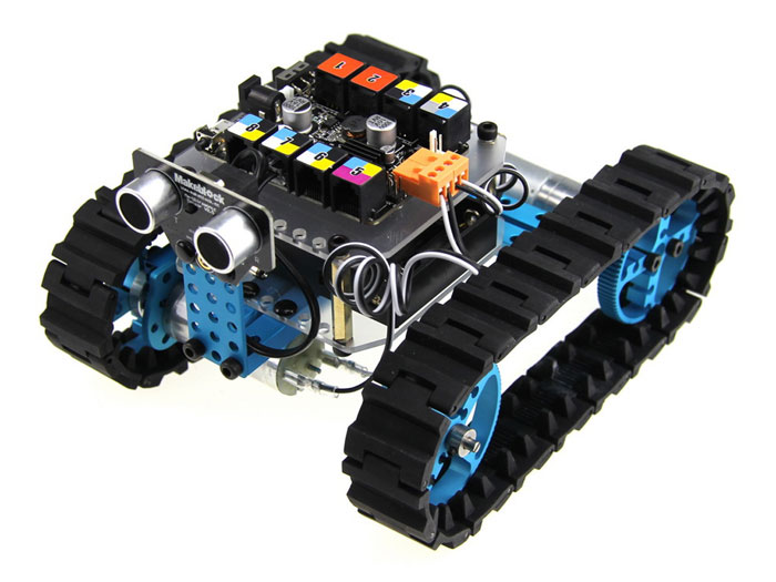 Makeblock Starter Kit IR - Robotics Kit with Electronics - Blue - 90004