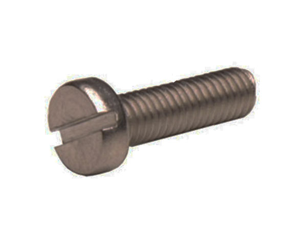 DIN 84 Galvanised-Lead Screws M4 x 12 - 25 Units