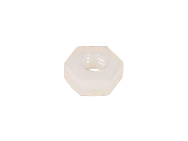DIN 934 Nylon Nut M3 - 25 Units
