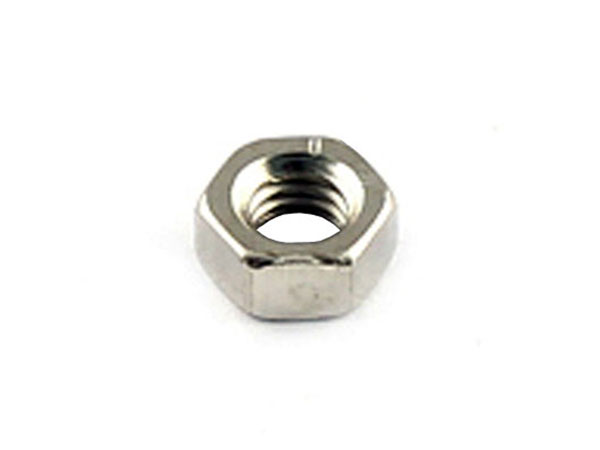 DIN 934 Galvanised-Lead Nuts M4 - 25 Units