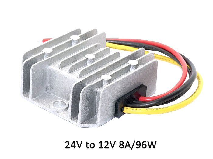 Conversor DC-DC, IN: 18 .. 35 V, OUT: 12 V - 8 A