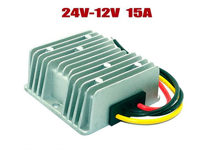 Conversor DC-DC, IN: 18 .. 35 V, OUT: 12 V - 15 A