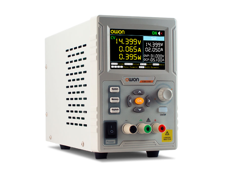 Programmable laboratory power supply 0-60 V-0-3 A