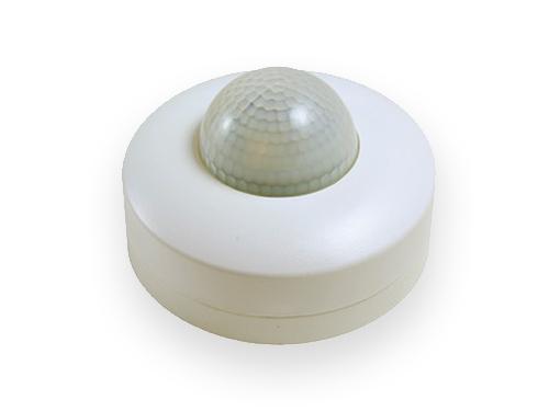 Detetor de presença iluminação teto superfície branco
