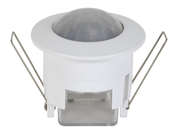 Embedded ceiling light with motion detector - Ø45 mm