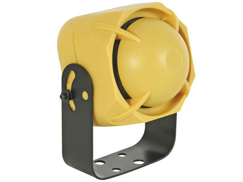 Weather resistant siren 12vcc - 20 W one tone - cab