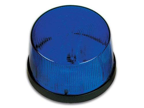Flash stroboscopique 12 Vcc - bleu