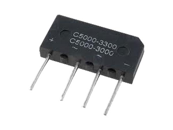 PUENTE RECTIFICADOR B250C5000/3300 - 5A / 250V