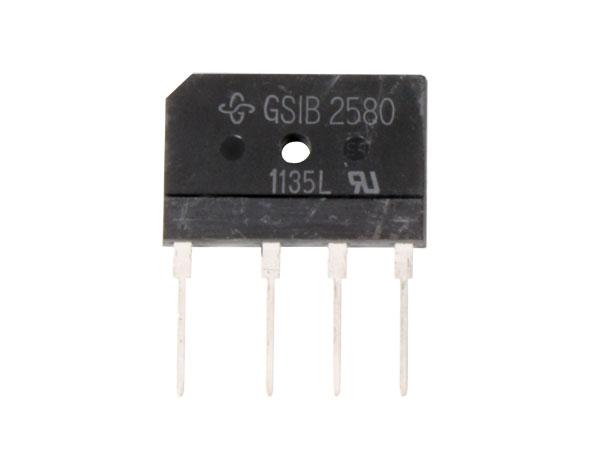PUENTE RECTIFICADOR SMDIGSIB2580 - 25A / 800V