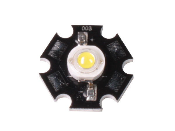 STAR - LED diode 1 W - 110 lm warm - white