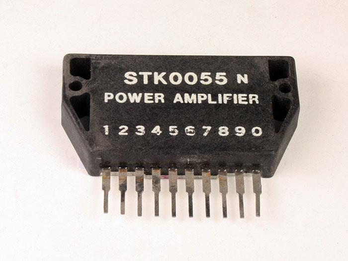STK055 - 15 W Stereo Power Amplifier