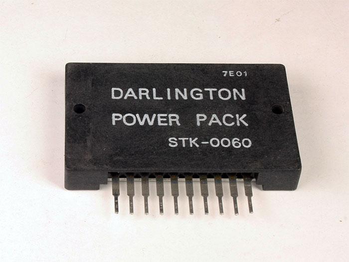 STK060 - Amplificador de Potencia Mono 60 W