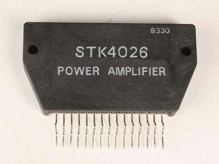STK4026 - 25 W Mono Power Amplifier