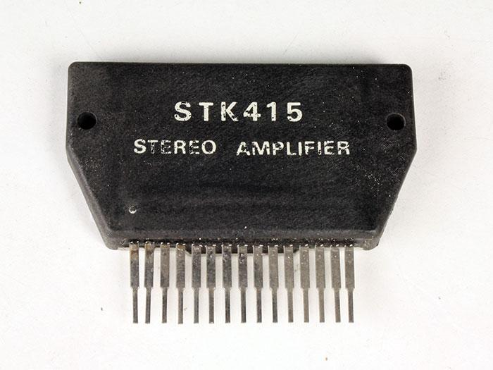 STK415 - 80 W Stereo Power Amplifier