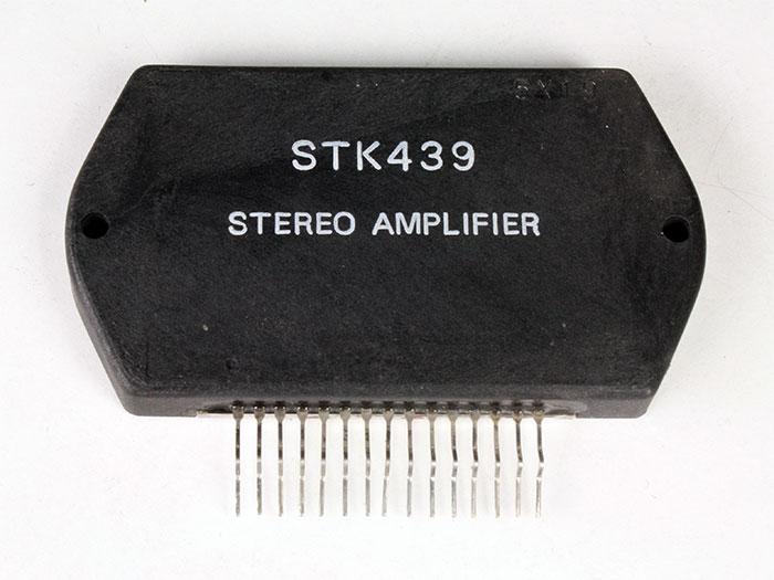 STK439 - 15 W Stereo Power Amplifier