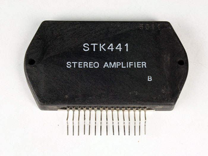 STK441 - 20 W Stereo Power Amplifier