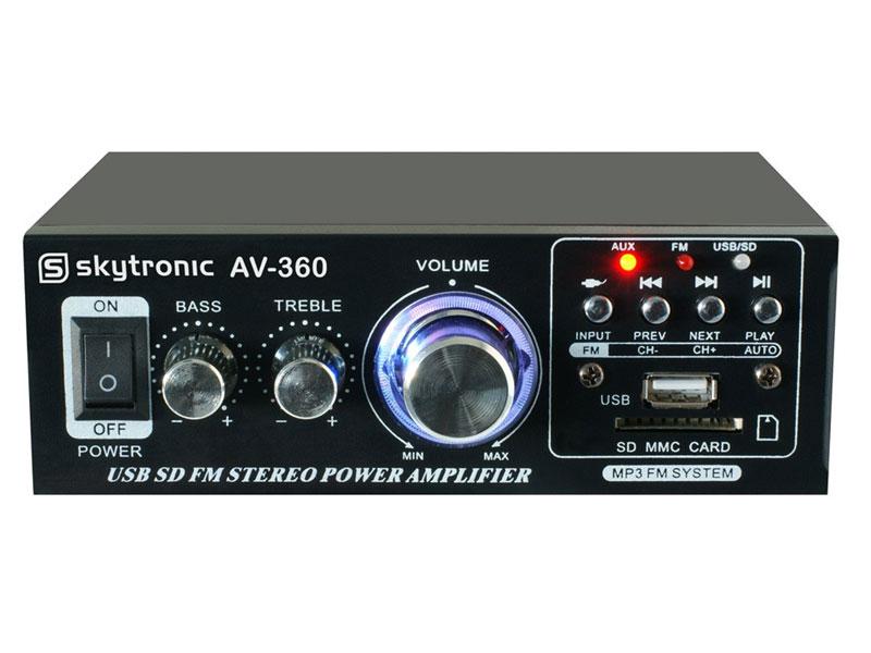 AMPLIFICADOR MISTURADOR MEGAFONE AV-360