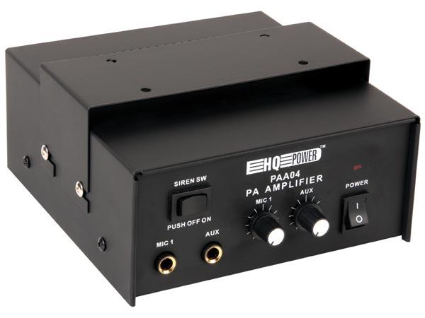 Amplificador misturador mono megafone - PAA04