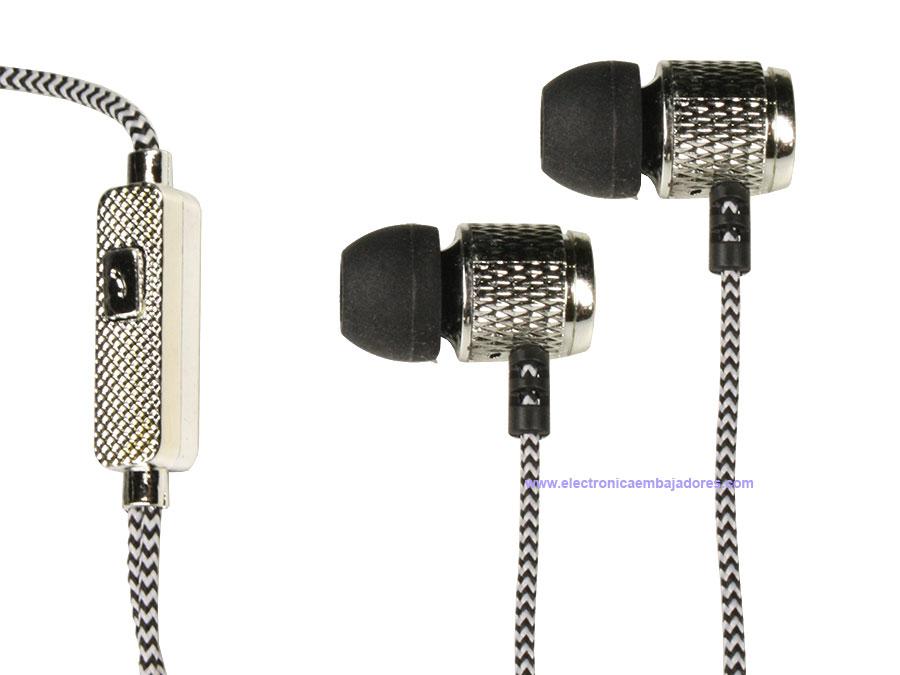 Pritech PBP-164 - Auricular Intrauditivo con Microfono