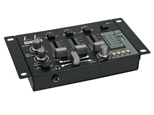 Table de mixage - 2 canaux + Entrée USB