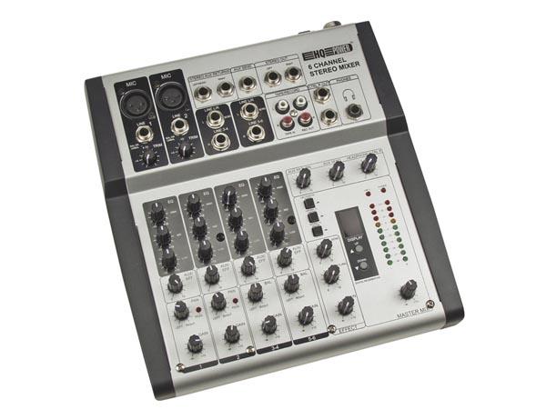 Mesa de mezclas profesional 6 canales reverb echo - Mesas de mezclas para pc ...