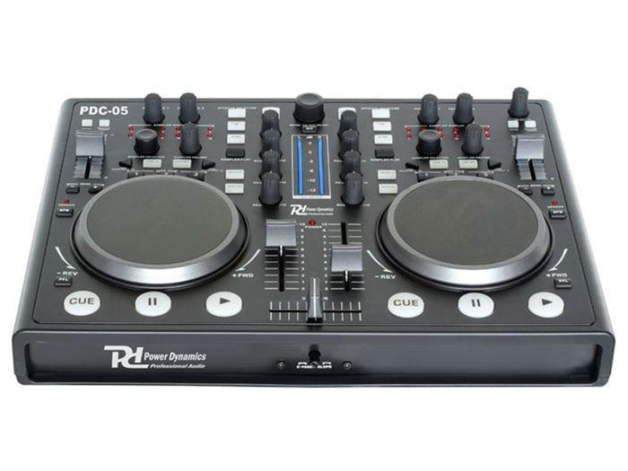 MESA DE MEZCLAS Controlador Dual Virtual DJ PDC-05