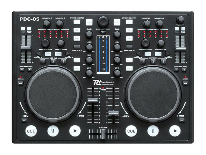 mesa de mezclas controlador dual virtual dj pdc 05 172