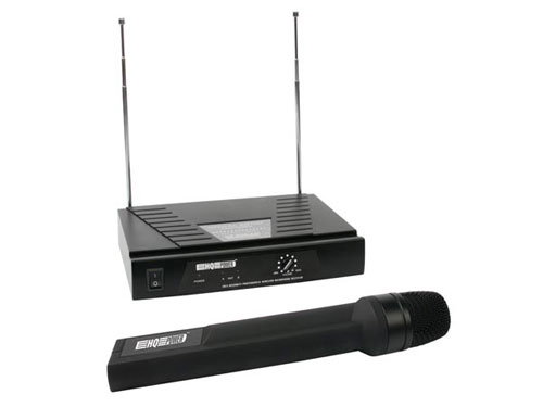 1 channel TRUE DIVERSITY VHF wireless system with receiver