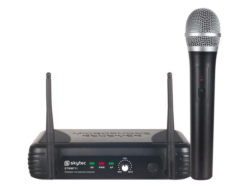 SISTEMA INALAMBRICO 1 CANAL VHF CON RECEPTOR
