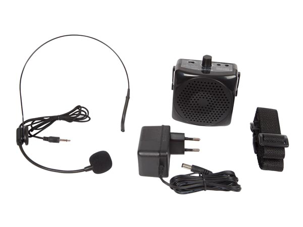 HQPA10001 - Portable public address system for conferences and exhibitions