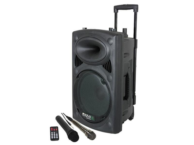 Sistema de áudio portátil sem fio para conferências, exposições, karaoke - PORT8VHF-BT
