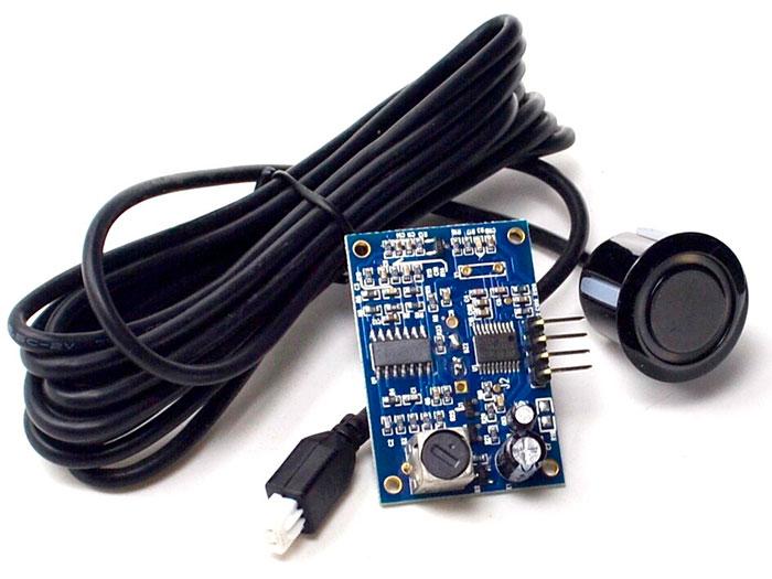 AJ-SR04M - Conexão Sensor de Proximidade por Ultra-Sons