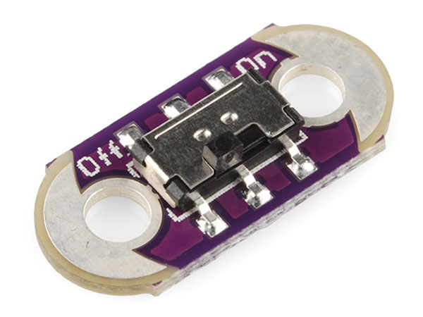 Sparkfun DEV-09350 - LILYPAD Interruptor Deslizante