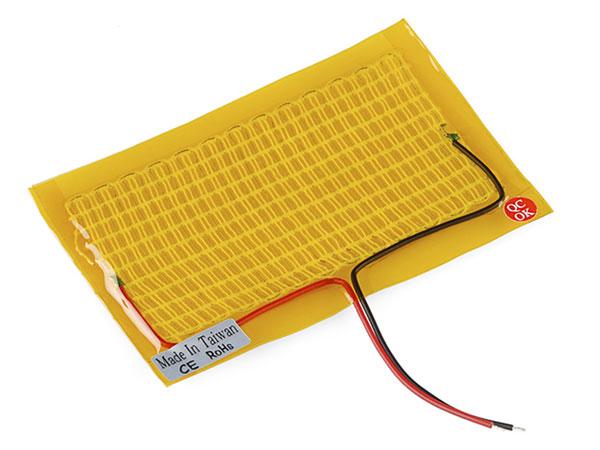 Sparkfun COM-11288 - Tela Calefactable 5x10 cm