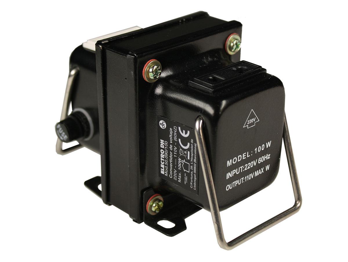 Autotransformador Reversible 220/110 V - 100 VA