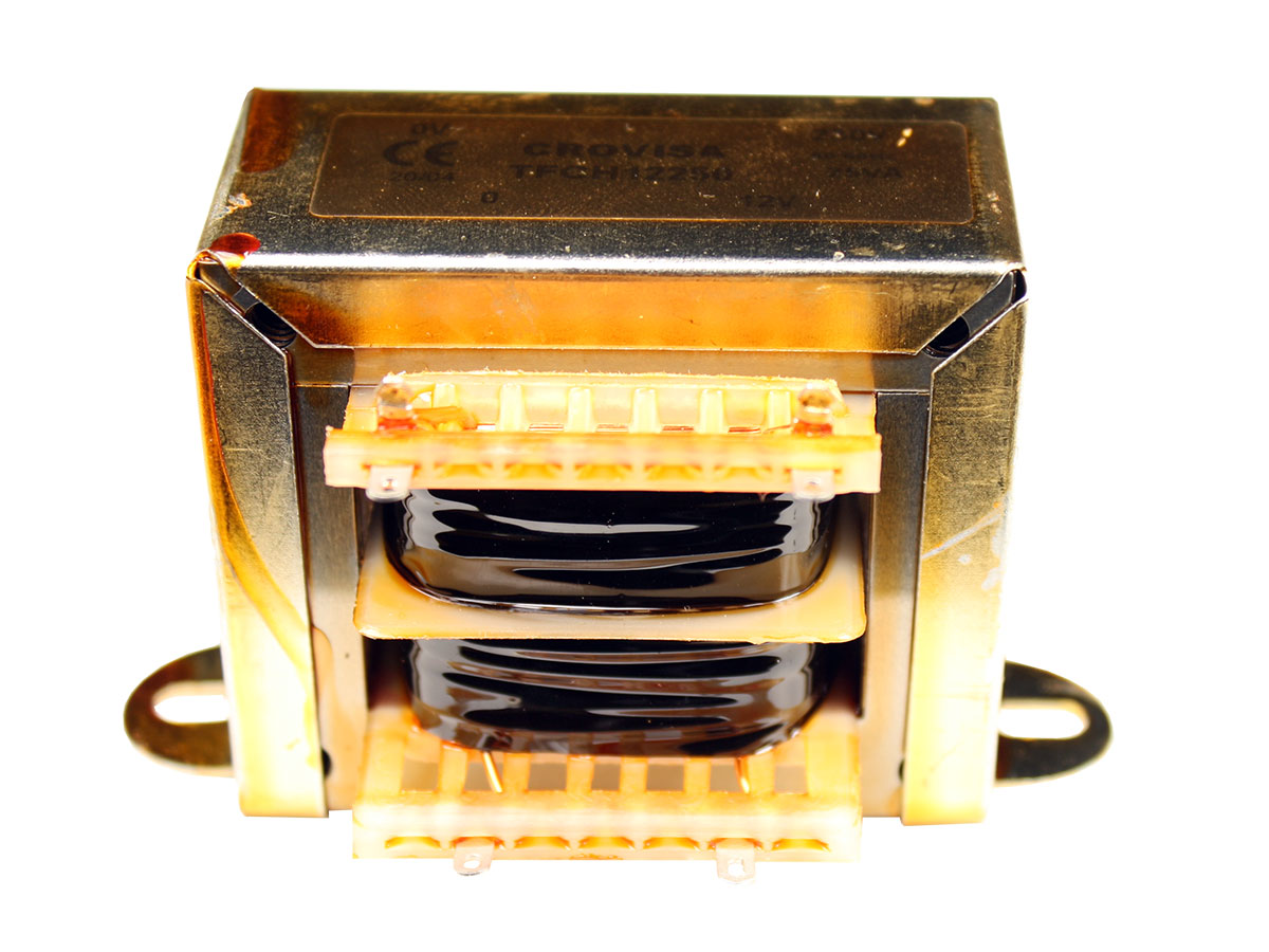 Transformador Chassi Aberto - 12 V - 25 VA - 2,08 A