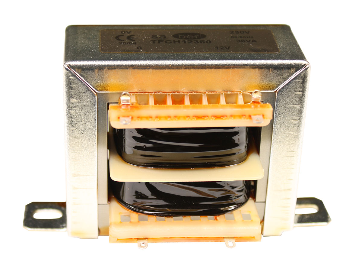 Open Frame Transformer - 12 V - 36 VA - 3.0 A