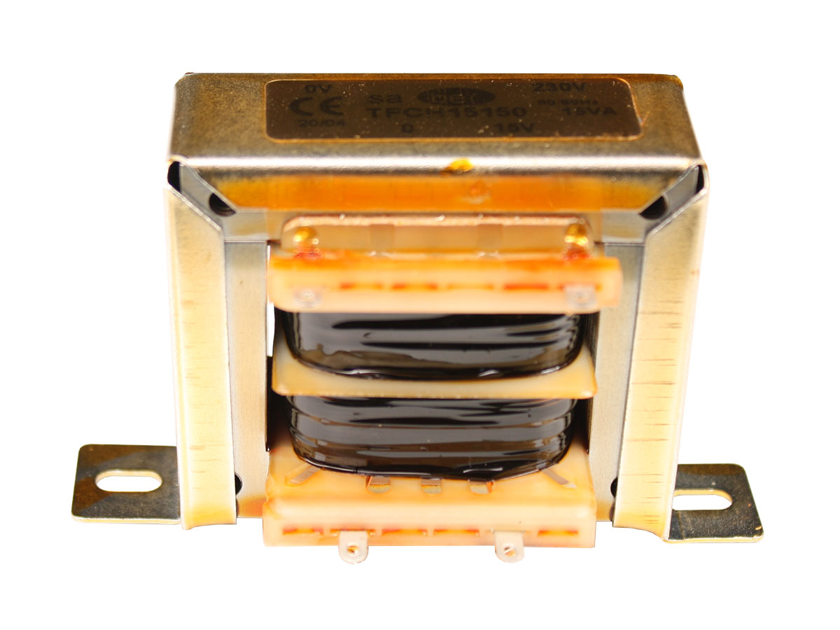 Open Frame Transformer - 12 V - 15 VA - 1.0 A - HR-C6031058