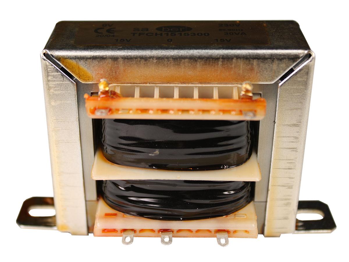 Open Frame Transformer - 15 V + 15 V - 30 VA - 2 x 1.00 A