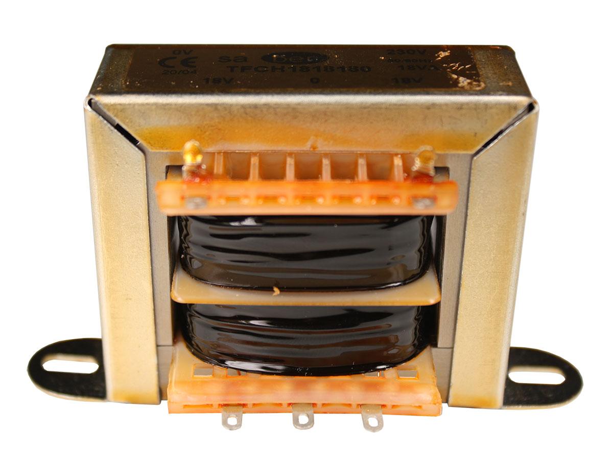 Open Frame Transformer - 18 V + 18 V - 18 VA - 2 x 500 mA