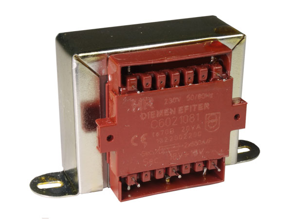 Open Frame Transformer - 18 V + 18 V - 20 VA - 2 x 555 mA