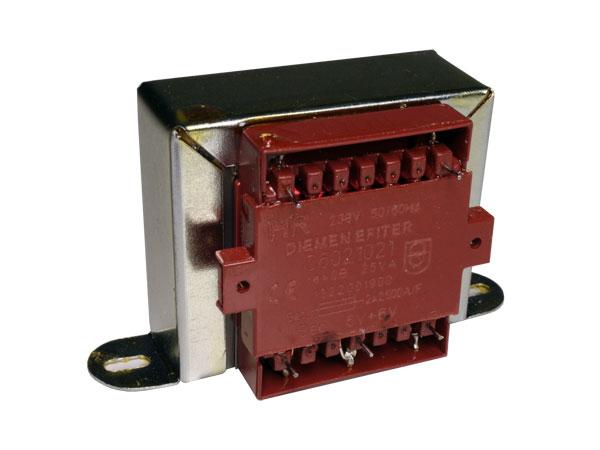Open Frame Transformer - 6 V + 6 V - 25 VA - 2 x 2.08 A - HR-C6021021-00