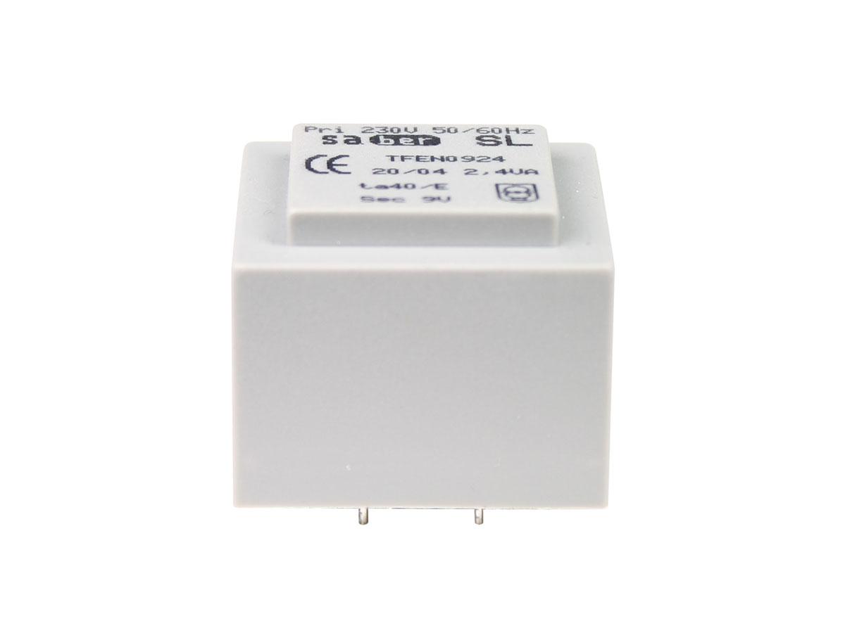 Transformateur Encapsulé - 9 V - 2,4 VA - 266 mA - E3016004