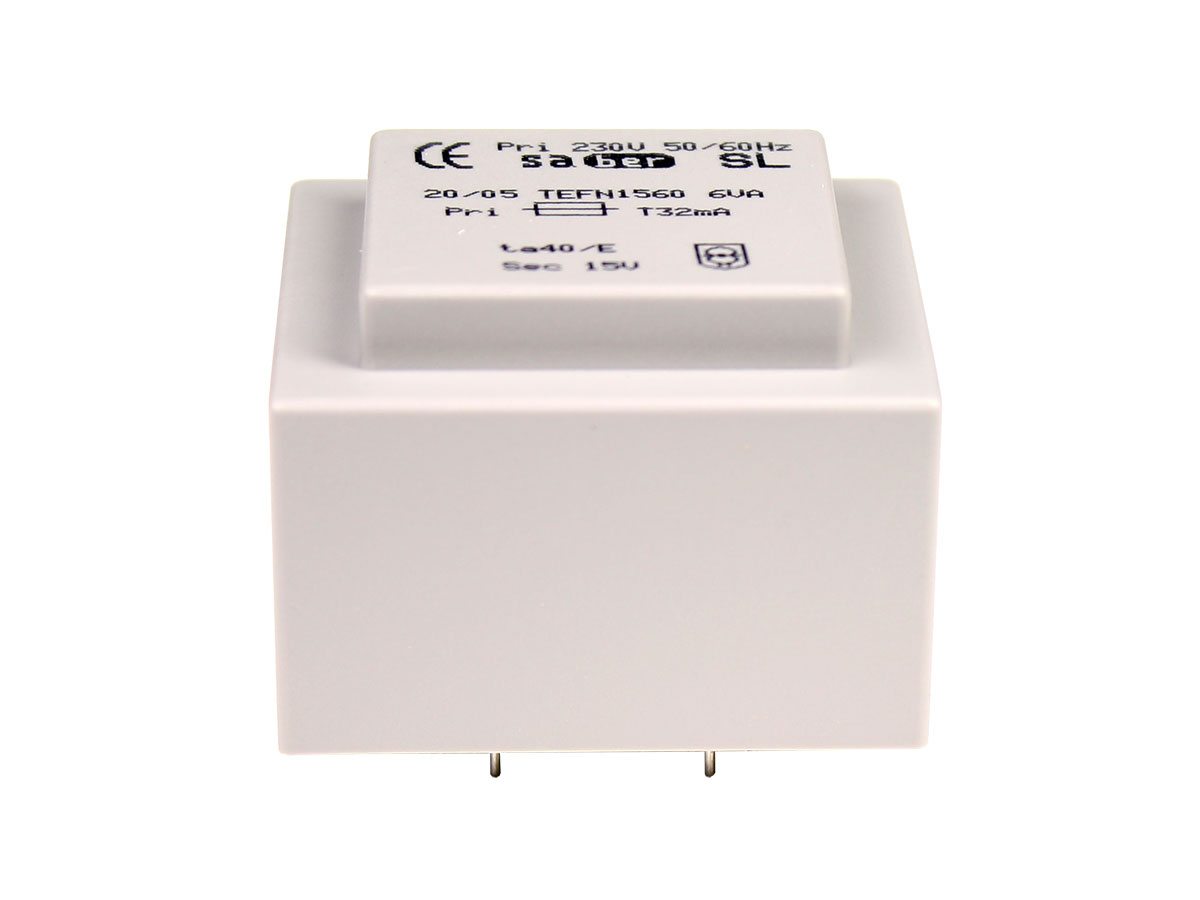 Encapsulated Transformer - 15 V - 6 VA - 400 mA